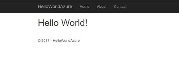 Hello World Browser View